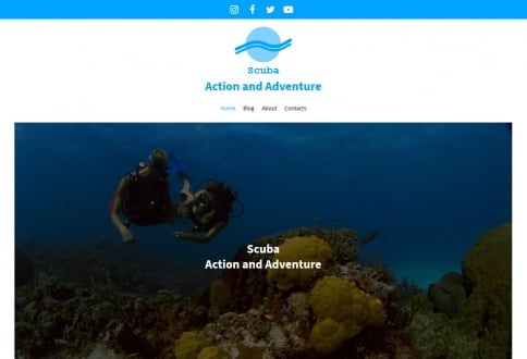Scuba action and adventures